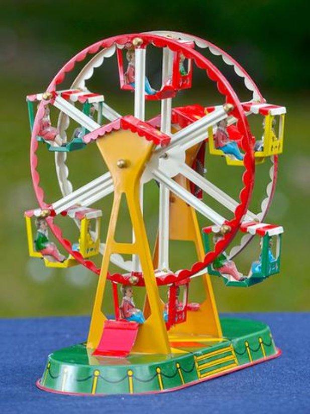 Blech-Riesenrad