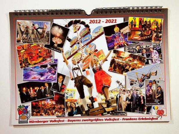10-Jahres-Kalender zum Planen