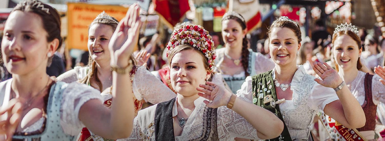 Volksfestkönigin